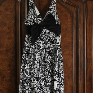Teri Jon - Rickie Freeman - V Neck Dress